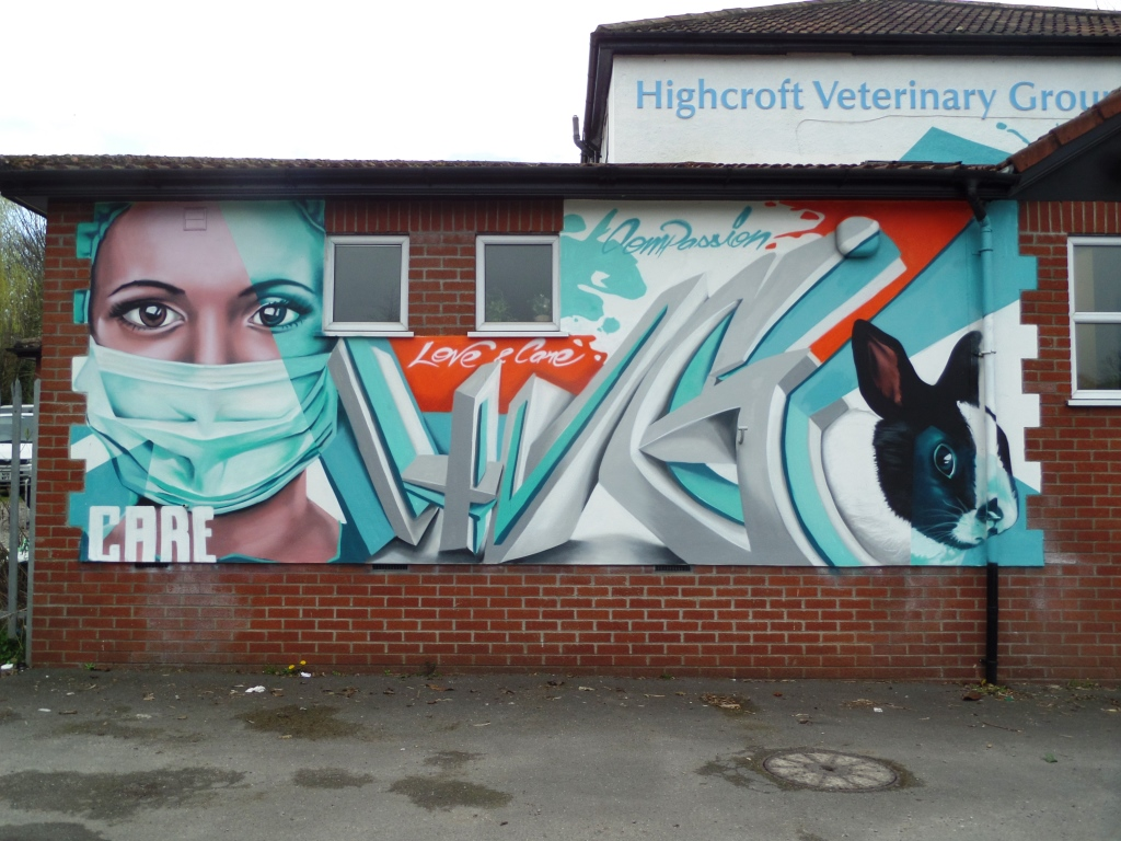Zase, Muller Road, Bristol, April 2016