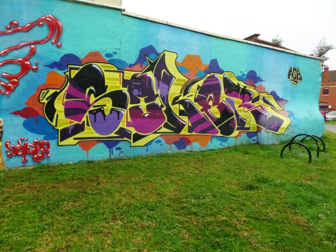 Soker, Lawfords Gate, Bristol, June 2016