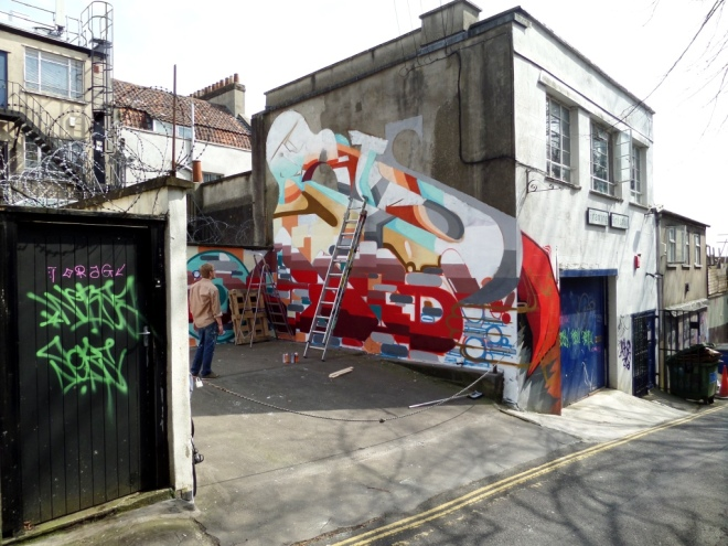 Fois, Hill Street, Bristol, April 2015