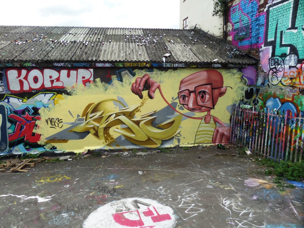 Zase and Dekor, Dean Lane, Bristol, July 2016