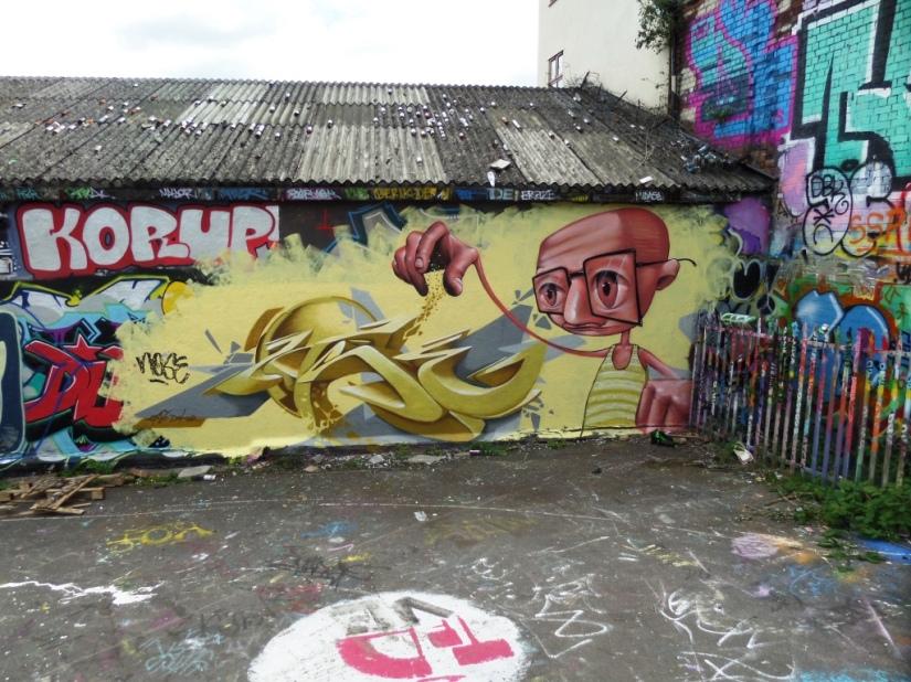 Zase and Dekor, Dean Lane, Bristol, July 2016