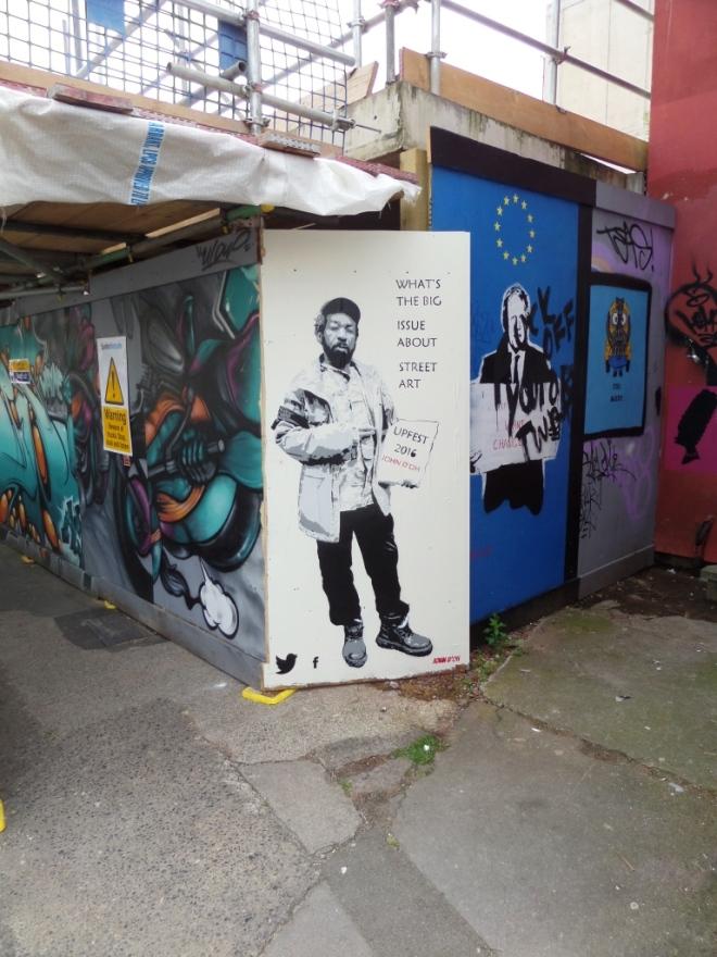 John D'oh, North Street, Bristol, June 2016