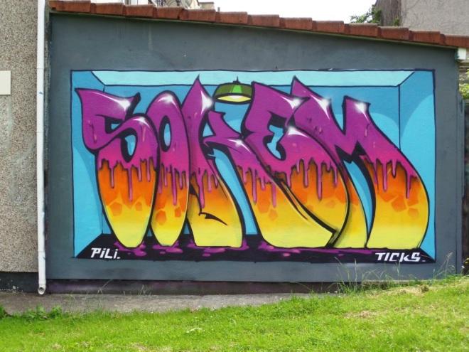 Soker, North Street, Bristol, June 2016