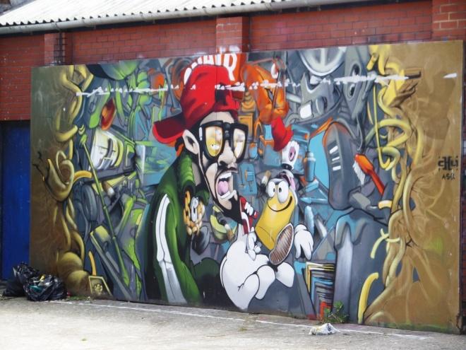 Cheo, Raleigh Road, Bristol, June 2016