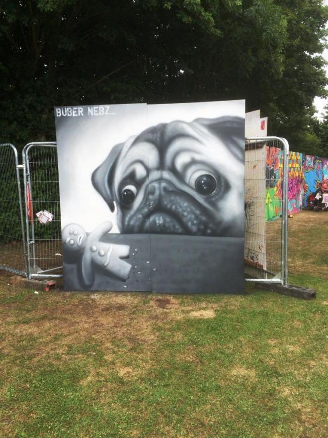 Buber Nebz, Upfest , Bristol, July 2016