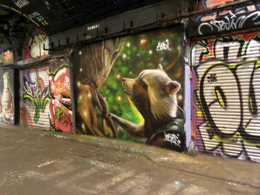 Gnasher, Leake Street, London, 4 July 2016