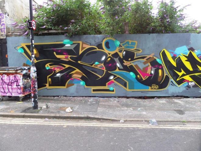 Kleiner Shames, Armada Place, Bristol, August 2016