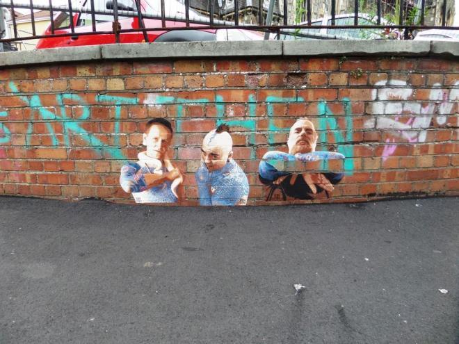 Din Din, Moon Street, Bristol, August 2016
