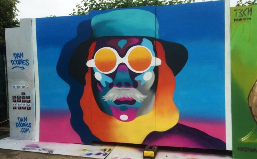 Dan Doodies, Upfest, Bristol, July 2016