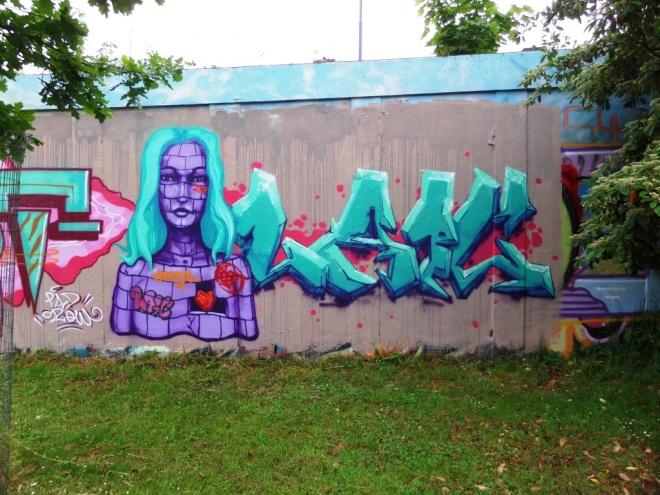 Laic217, M32 roundabout, Bristol, June 2016