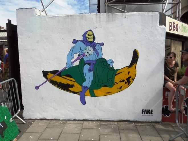Fake, Greville Road, Upfest, Bristol, July 2016