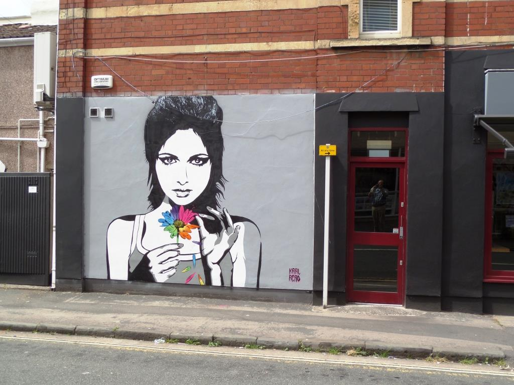 Karl Read, Raleigh Road, Upfest, Bristol, July 2016