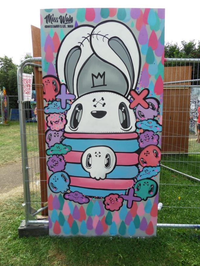 Miss Wah, Upfest, Bristol, July 2016