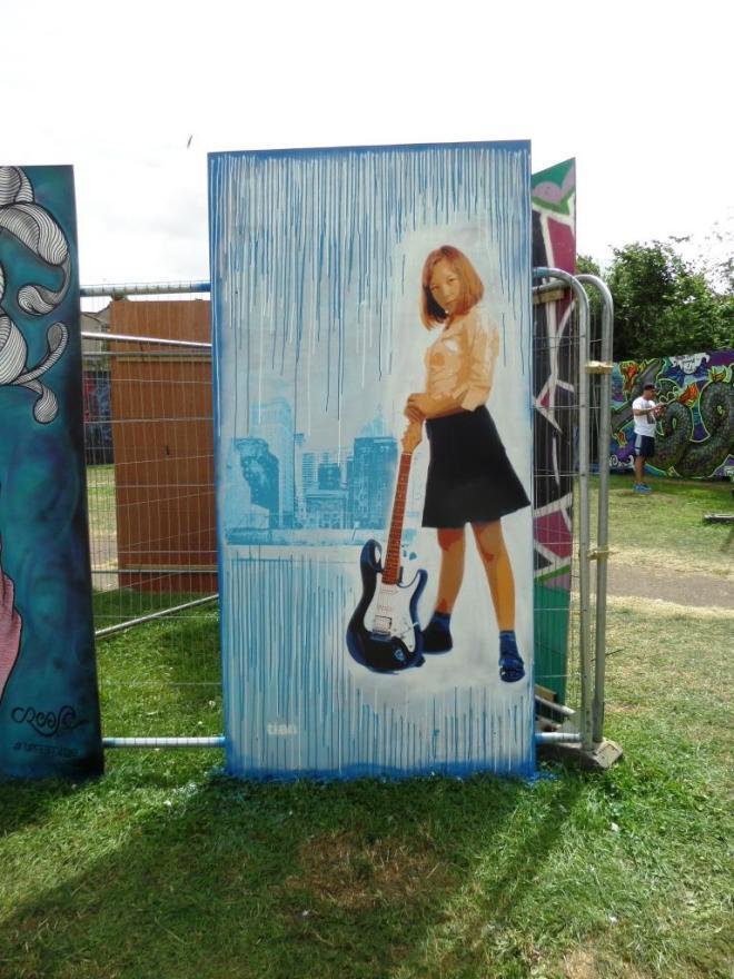 Tian, Upfest, Bristol, July 2016