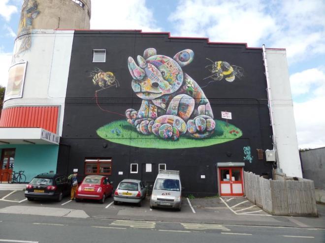 Louis Masai, Redpoint, Upfest, Bristol, July 2016