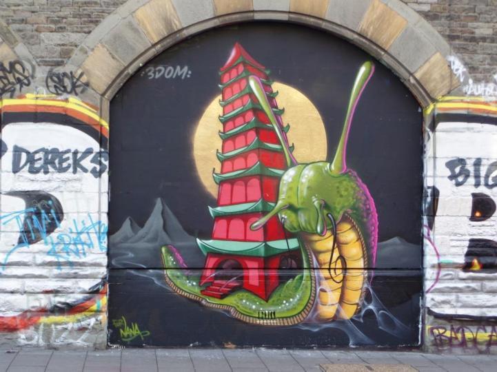 3Dom, Stokes Croft, Bristol, September 2016