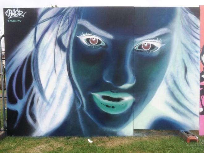 Takerone, Upfest, Bristol, July 2016