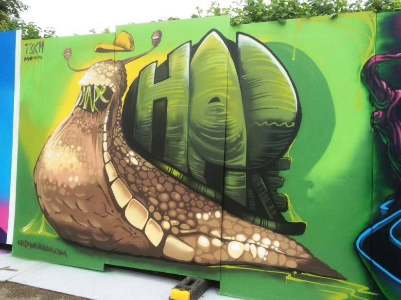 Krishna Malla, Upfest, Bristol, July 2016