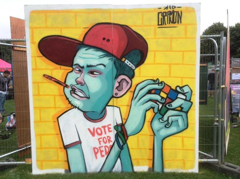 Kid Crayon, Upfest, Bristol, July 2016