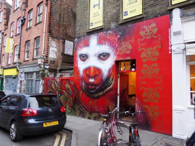 Dale Grimshaw, Hanbury Street, London, September 2016