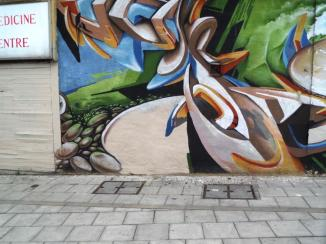 Zase and Dekor, Gloucester Road, Bristol, August 2015
