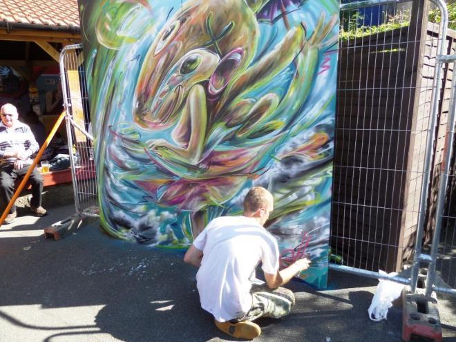 Tom Miller, Upfest, Bristol, July 2016