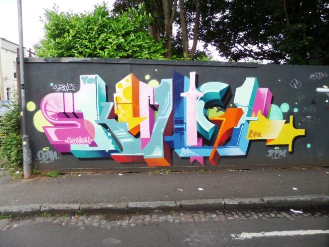 Sky High, Magdalene Place, Bristol, June 2016