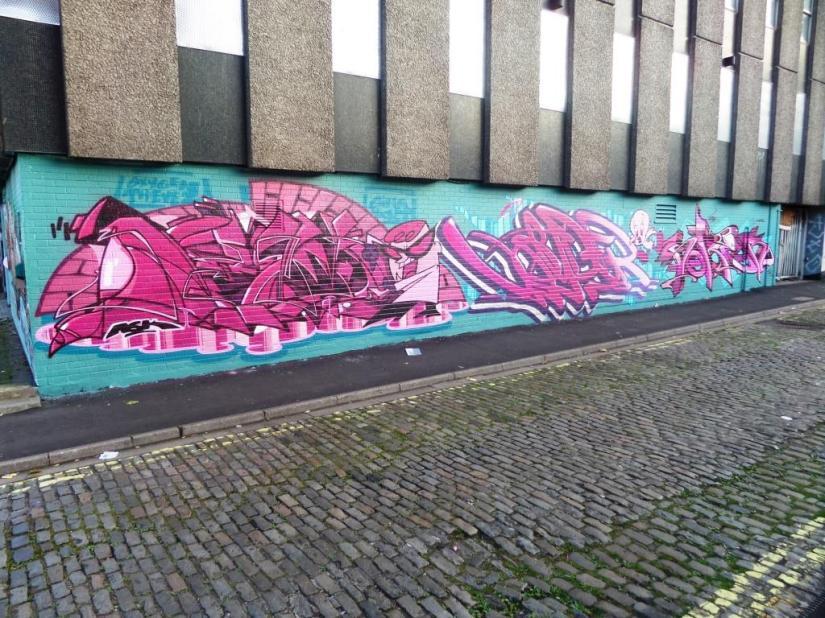 Deamze, Voyder and Soker, Wilder Street, Bristol, September 2016