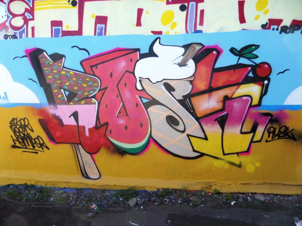 Rusk, Dean Lane, Bristol, September 2016