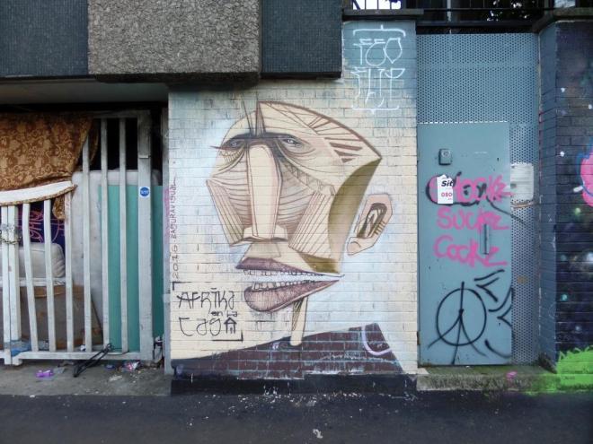 Feoflip, Wilder Street, Bristol, September 2016
