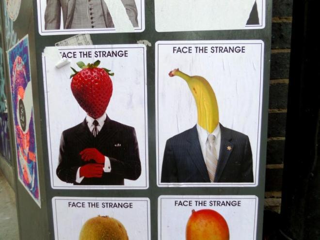 Face The Strange, Jerome Street, Shoreditch, September 2016