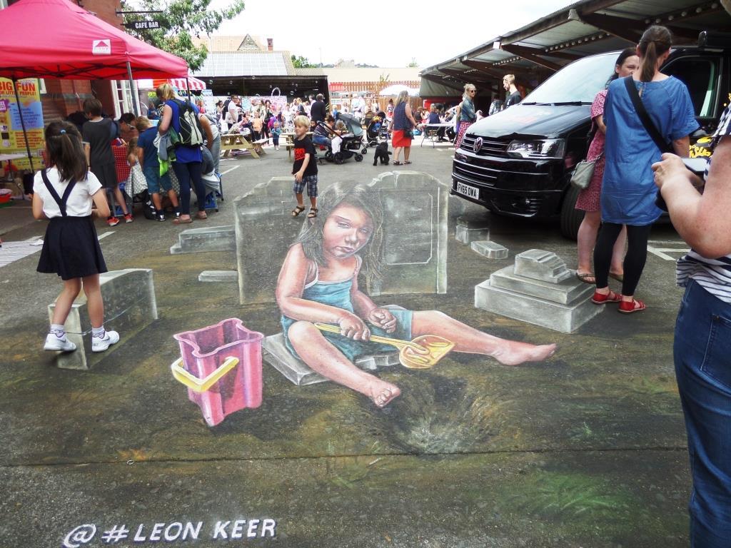 Leon Keer, Upfest, Bristol, July 2016