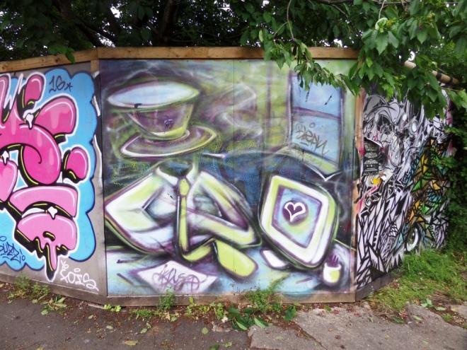 Mr Klue, Magdalene Place, Bristol, June 2016