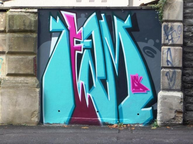 Deamze, Dighton Street, Bristol, October 2016