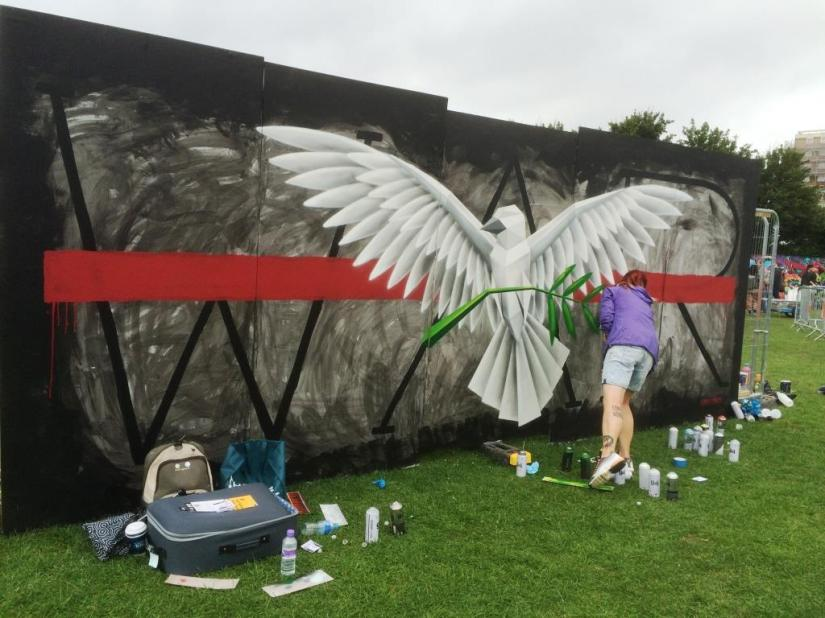 Annatomix, Upfest, Bristol, July 2016