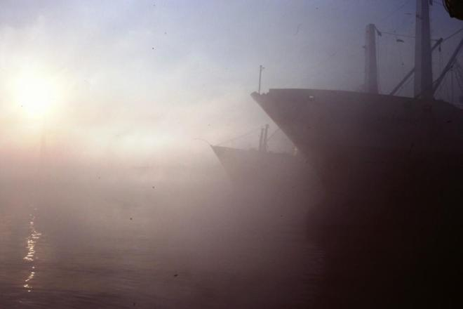 Leaving Montevideo, Koei Maru 30, June 1988