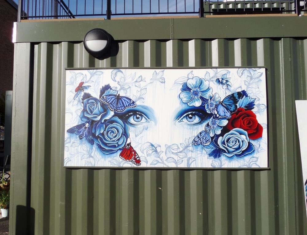Gemma Compton, Wapping Wharf, Bristol, November 2016