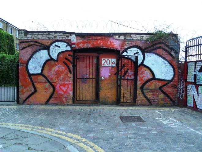 Stik, Grimsby Street, London, August 2016