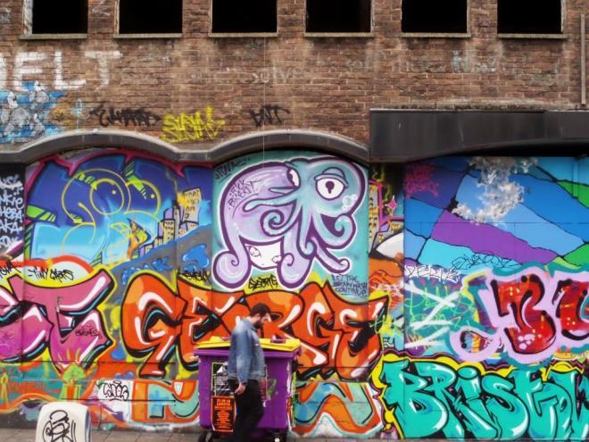 Face F1st, Stokes Croft, Bristol, October 201