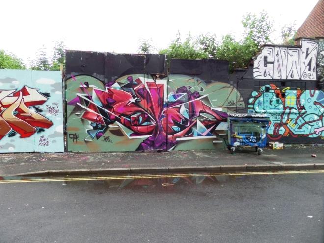 Sled One and Epok, Armada Place, Bristol, June 2016