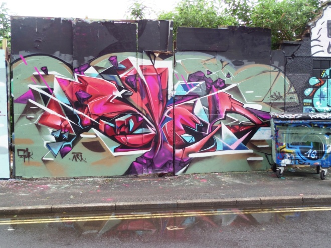 Sled One and Epok, Armada Place, Bristol, June 2016