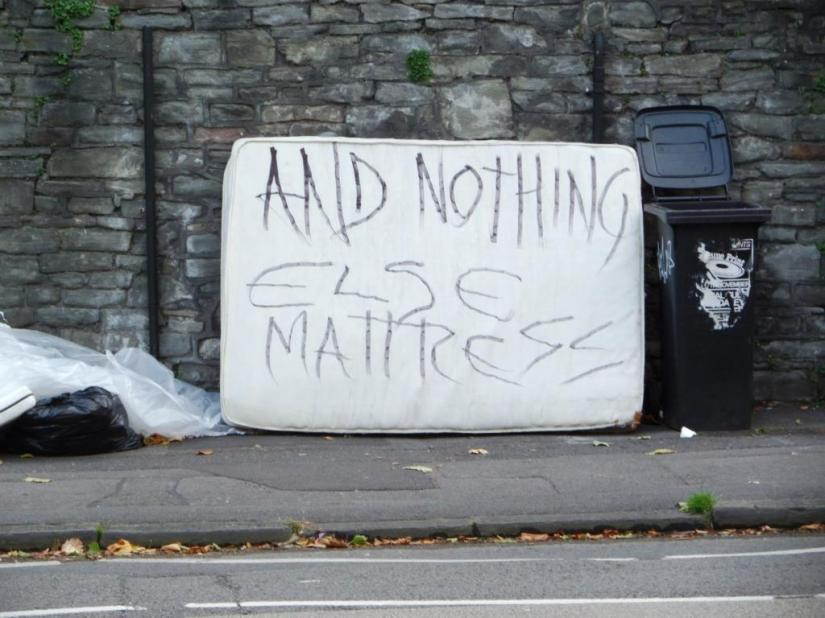 Nothing else mattress, Haiku