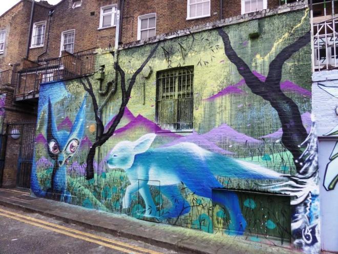 Himbad and Marina Zumi, Hawley Mews, Camden Town, September 2016
