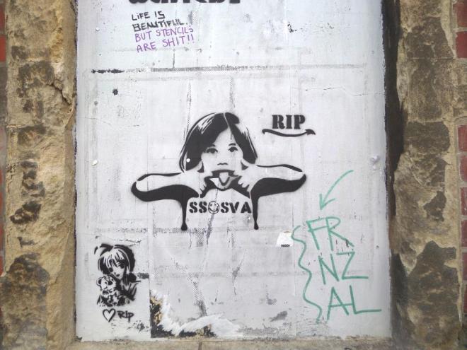 RIP, Gathorne Road, Bristol, April 2016