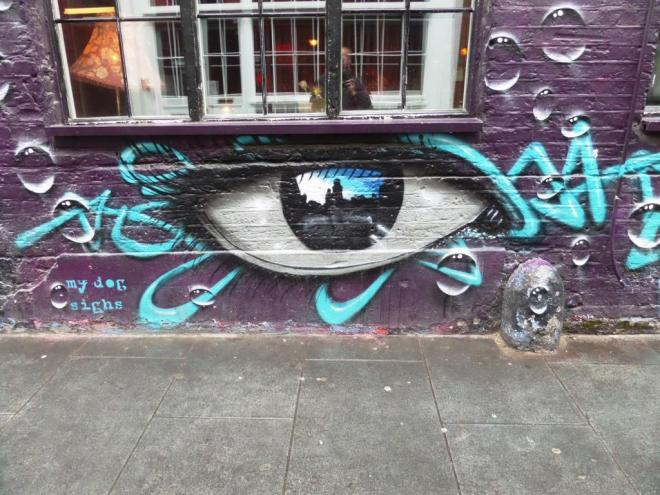My Dog Sighs, Rivington Street, Shoreditch, August 2016