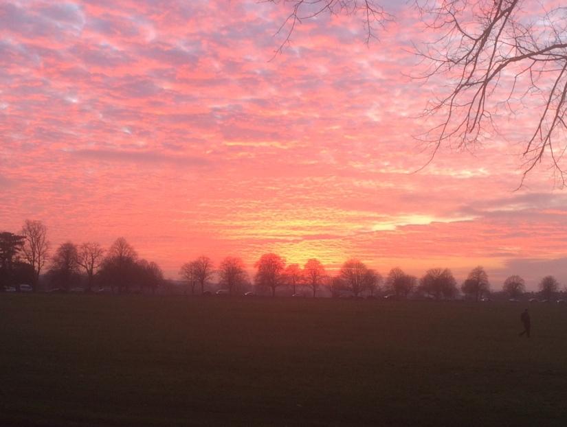 Bristol sunset haiku