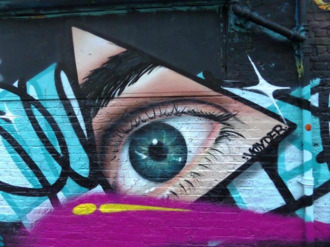 Voyder, Code Street, Shoreditch, August 2016