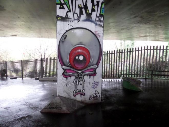 3Dom, M32 Spot, Bristol, January 2017