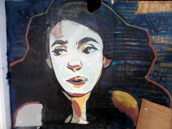 Unknown artist, Wilder Street, Bristol, September 2016