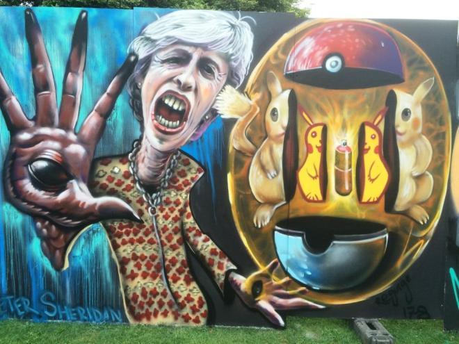 Peter Sheridan, Upfest, Bristol, July 2016